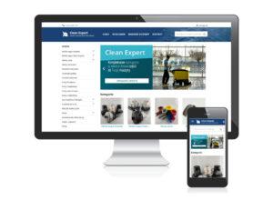 Sklep internetowy dla Clean Expert