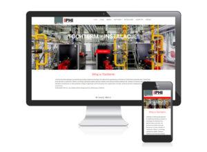 Strona www dla firmy Tohterm