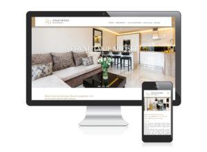 Strona www dla ApartHome