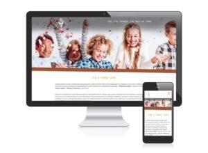 Strona www dla Fundacji Sarabi