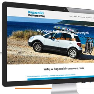 Przykładowy wygląd strony internetowej