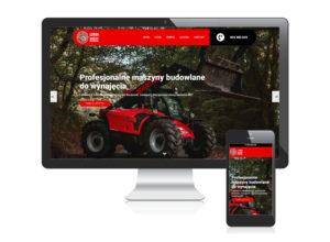 Strona internetowa dla Loran Maszyny Budowlane